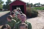 Schnepf Farm train ride