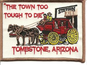 Tombstone stage coach patch