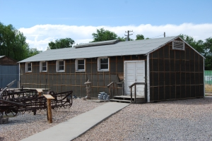 Topaz Internment Camp building