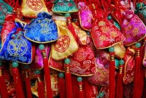 prayer pouches in Jinli Market