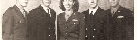 Boswell Siblings in Uniform