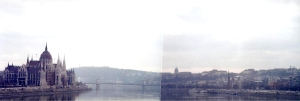 Budapest along the Danube