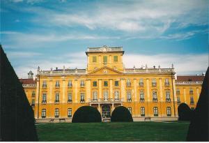 Eszterhaza palace in Fertod, Hungary