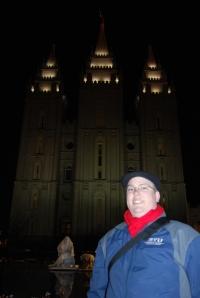 Kevin Earl at Salt Lake Temple