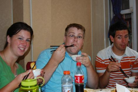 me with chopsticks