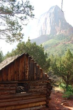 Kolob Canyon Homestead Cabin