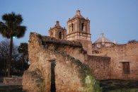 old mission in San Antonio