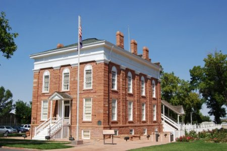 old territorial statehouse in Fillmore Utah