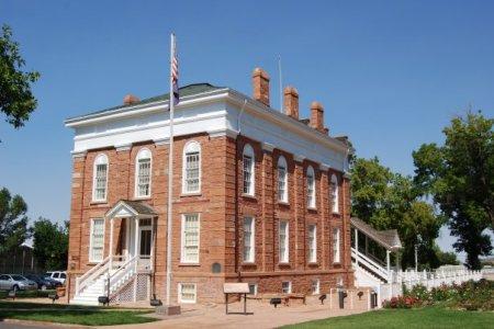 old territorial statehouse in Fillmore Utah