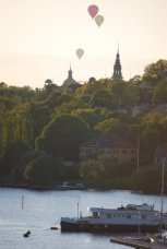 balloons over Stockholm