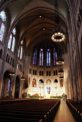 Riverside Church sanctuary