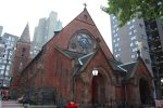 old church on Roosevelt Island