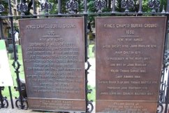 check out the people buried in this cemetery