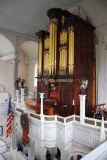 the organ in the Old North Church