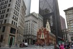"""Old State House and site of the Boston Massacre and the """"shot heard around the world"""""""