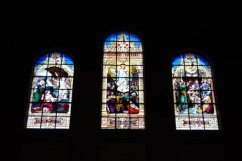 stained glass in Boston's Trinity Church