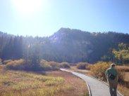 at my favorite easy hike near Salt Lake - Silver Lake at the top of Big Cottonwood Canyon