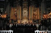 singing with The Texas Boys Choir in Riga, Latvia