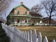 the winter home of Brigham Young in St. George, Utah