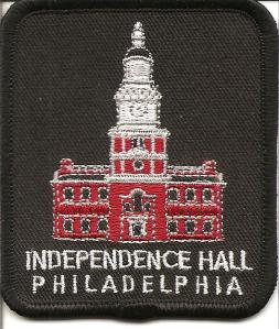Independence Hall patch