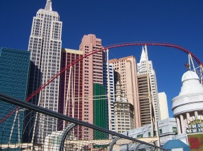 the New York New York hotel and Casino in Las Vegas