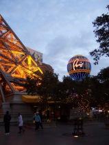 The Paris hotel and casino in Las Vegas