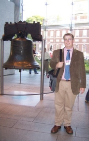 at the Liberty Bell