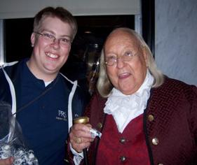 Me wtih Ben Franklin