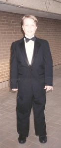 Me in my tux for The Miss Texas Pageant in 1994