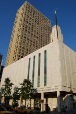 LDS Temple in Manhattan