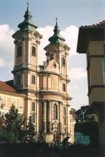 old church in Eger, Hungary