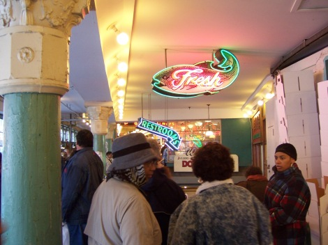 Pike's Place Market in Seattle