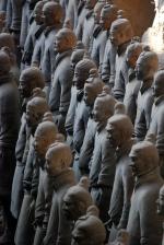 Terracotta Warriors in ranks