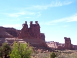Three Gossips at Arches NP as seen in Indiana Jones and The Last Crusade