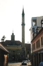 Turkish minaret in Eger