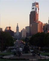 View of Philadelphia from Museum of Art