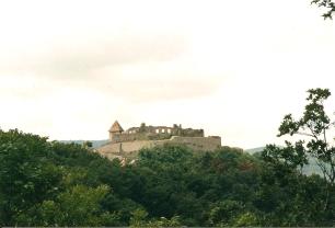 Visegrad castle north of Budapest on Danube