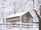 Gardiner Cabin at This is the Place Heritage Park in Salt Lake City