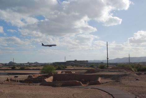 Pueblo Grande near Phoenix Sky Harbor