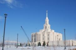 Payson Utah Temple (under construction)