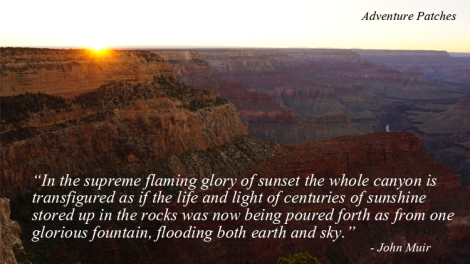 9 Nov 2014 Grand Canyon sunset