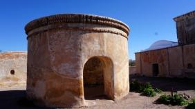 round cemetery chapel