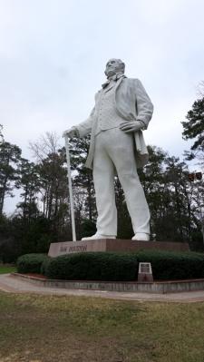 21 Dec 2014 Sam Houston Statue (9)