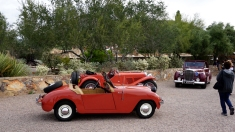 12 Jan 2015 FLLW cars return to Taliesin West (6)