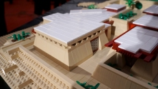 my office at Taliesin West made in Lego bricks
