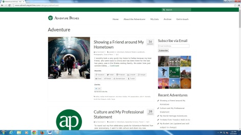 AP archives page