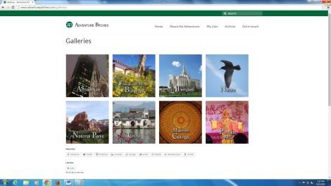 AP galleries page